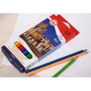"Цветные карандаши Koh-I-Noor ""7 ЧУДЕС СВЕТА"", 24 цвета"