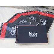 Альбом серии Sketchblack для эскизов на пружине, а5, 50 л., 100 г/м²