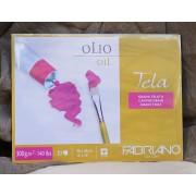 Альбом для масляной живописи «Tela» 10 л., 360x480 мм