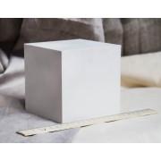 """Гипсовая модель """"Куб"""""""