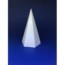 """Гипсовая модель """"Шестигранная пирамида"""""""